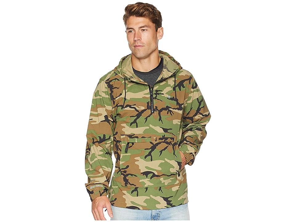 Brixton Patrol All Terrain Anorak Jacket (Multi Camo) Men