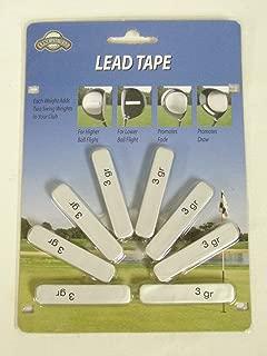OnCourse Golf Club Head Weights 8 Pre Cut Lead Tape Strips New