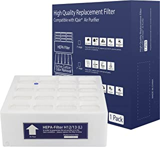 HEPA Replacement Filter, Compatible with IQ HEALTH...
