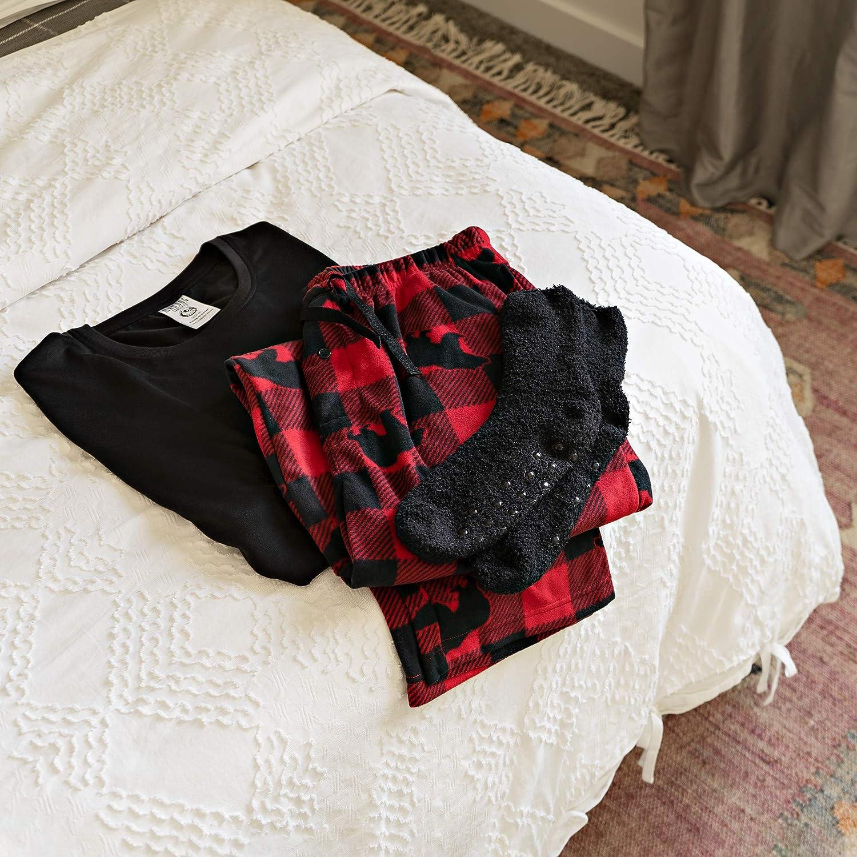 3-Piece Set with Shirt Pants and Socks Mad Dog Concepts Pajama Set for Men
