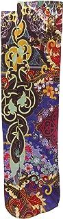 Celeste Stein Therapeutic Compression Socks, Bright Oriental, 8-15 Mmhg, Mild