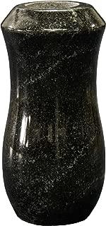 7x4-D American Black Granite Monument Vase Cemetery Tombstone Headstone Gravestone Flower Memorial Company Prices Head Stones
