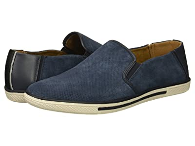 Kenneth Cole Reaction Center Slip-On (Navy Suede) Men