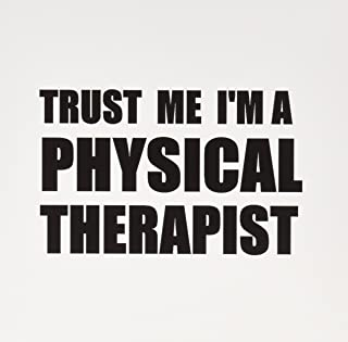 3dRose Trust Me I'm A Physical Therapist Therapy Work Humor Funny Job Gift Greeting Cards, Set of 6 (gc_195644_1)