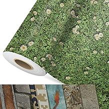 CV vloerbedekking Daisies - extra slijtvaste PVC vloerbedekking (geschuimd) - Foto Print Bloemenweide - Oppervlak gestruct...
