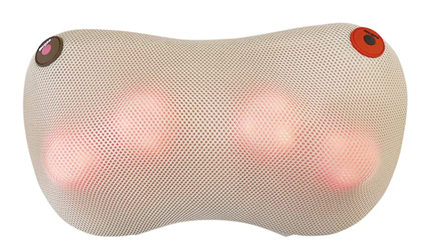 にはまって謙虚な不公平クロシオ 温熱マッサージ器 温もみ ベージュ 肩こり 肩甲骨 マッサージ機 マッサージ枕 医療機器認定品 正規品