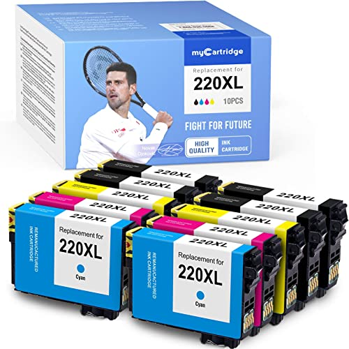2021 MYCARTRIDGE Remanufactured Ink online sale Cartridge Replacement for Epson 220 220XL high quality Work with Workforce WF-2630 WF-2650 WF-2660 WF-2760 WF-2750 XP-320 XP-420 (Black, Cyan, Magenta, Yellow, 10-Pack) sale