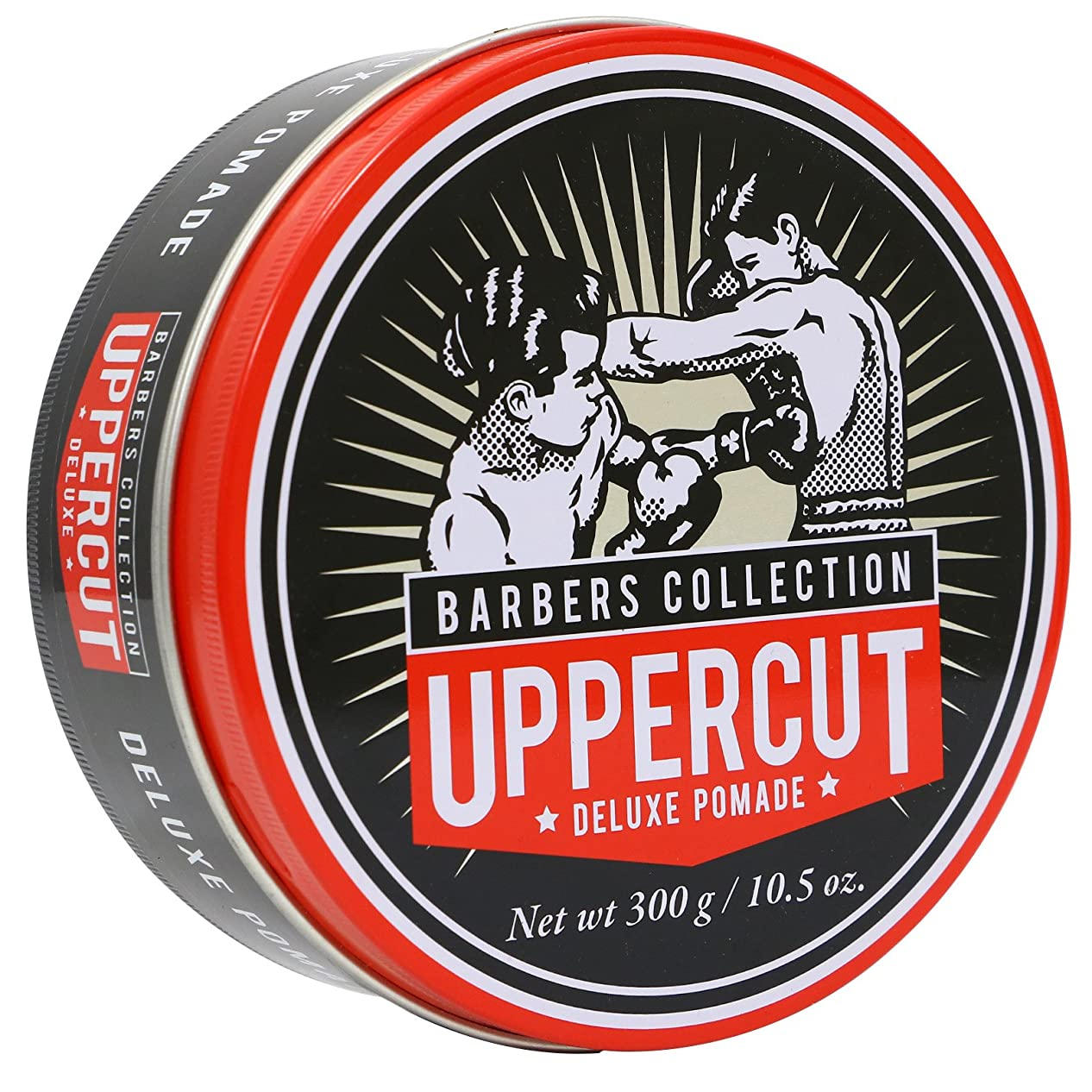 一般的な皮故障中Uppercut Deluxe Barbers Collection Deluxe Pomade 300g/10.5oz並行輸入品