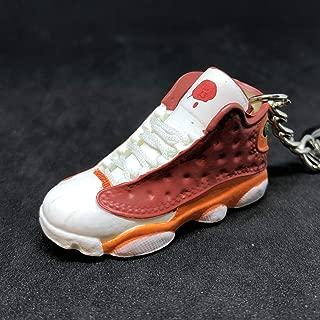 Air Jordan XIII 13 Retro BIN23 BIN Premio OG Sneakers Shoes 3D Keychain 1:6 Figure