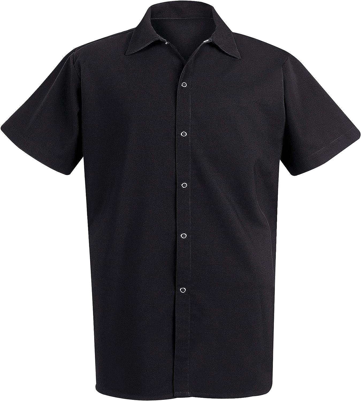 Chef Designs Men's RK Spun Poly Long Cook Shirt