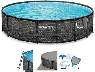 coleman 18 ft pool