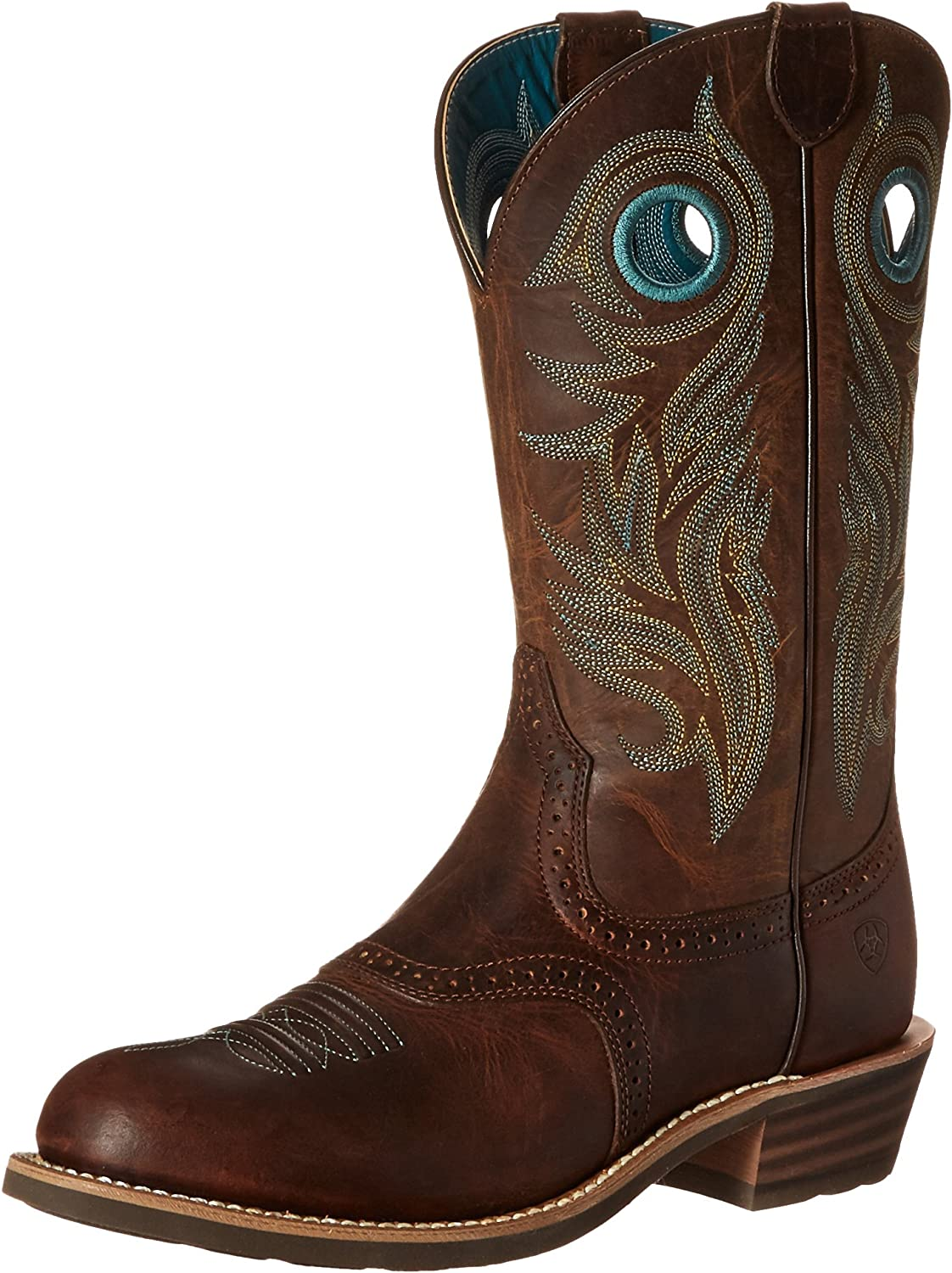 ARIAT Women's Shadow Rider Boot Round Toe