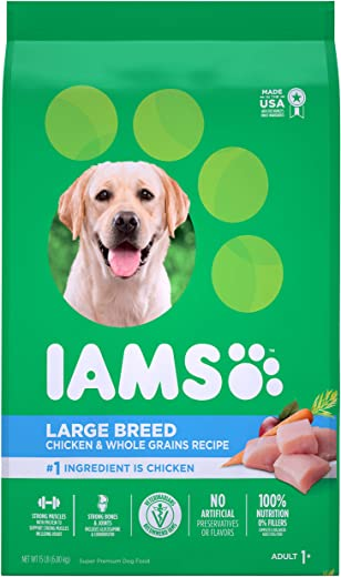 Iams Large Breed Adult Dry Dog Food, Chicken
