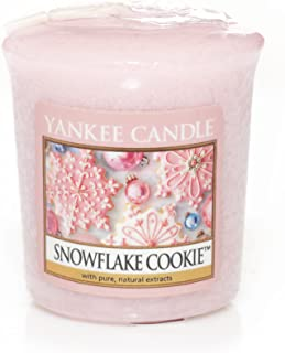Yankee Candle Snowflake Cookie Votive Sampler Candle - NEW For 2013!