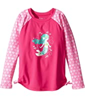 Hatley Kids - Sweet Mermaid Rashguard (Toddler/Little Kids/Big Kids)