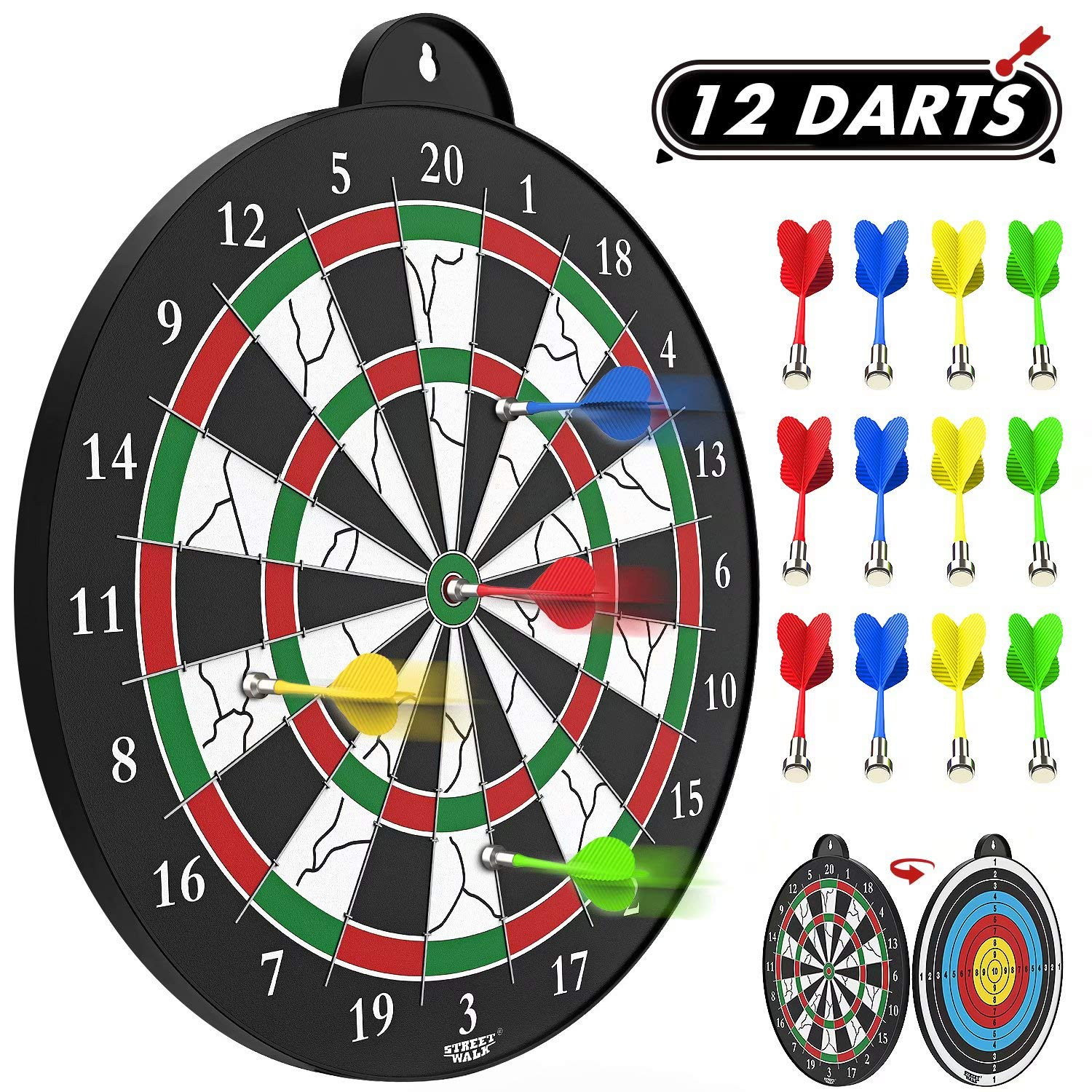 Magnetic Dart Board Excellent Indoor