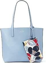 Kate Spade New York Arch Place Mya Breezy Floral Reversible Leather Tote Bag Shoulder Bag