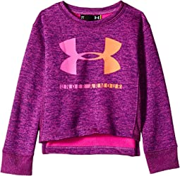 Plush Big Logo Crew Neck (Little Kids)