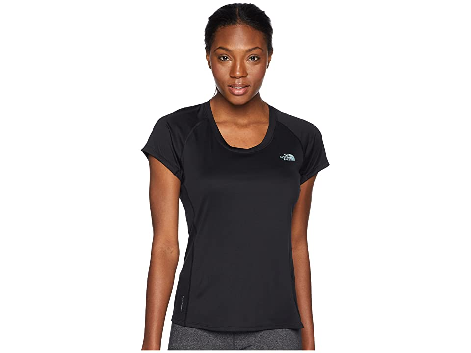 The North Face Ambition Short Sleeve Tee (TNF Black) Women