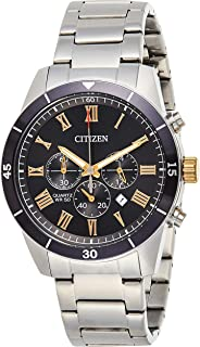 Citizen Mens Quartz Watch, Chronograph Display and Stainless Steel Strap - AN8168-51H