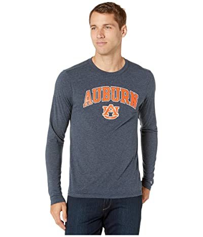 Champion College Auburn Tigers Field Day Long Sleeve Tee (Navy) Men