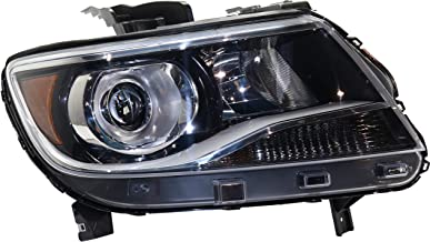 Headlight Compatible with CHEVROLET COLORADO 2015-2017 RH Assembly Halogen Projector Type (LT with Luxury Package)/Z71/ZR2 Models