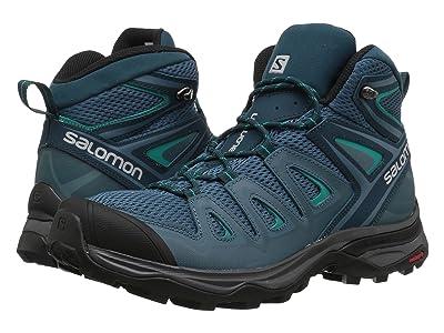 Salomon X Ultra Mid 3 Aero (Mallard Blue/Reflecting Pond/Tropical Green) Women
