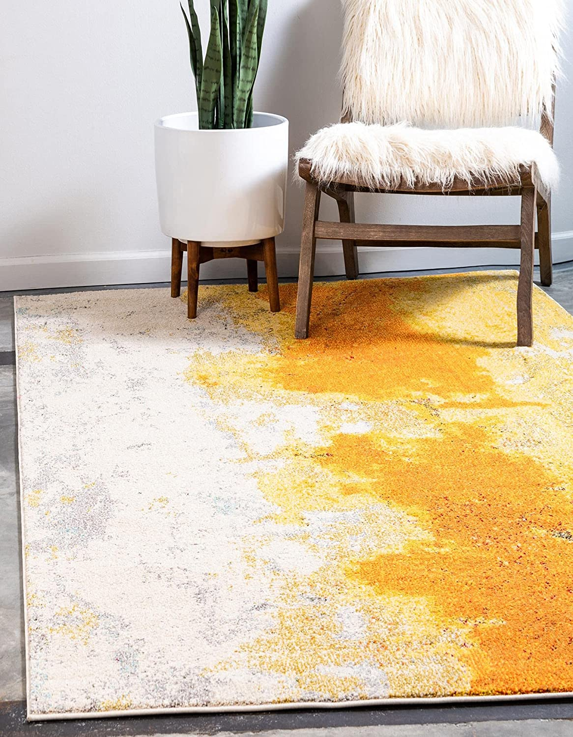 Unique Loom Estrella Limited Special Price Collection Colorful Mail order cheap Area Abstract Rug 5 x