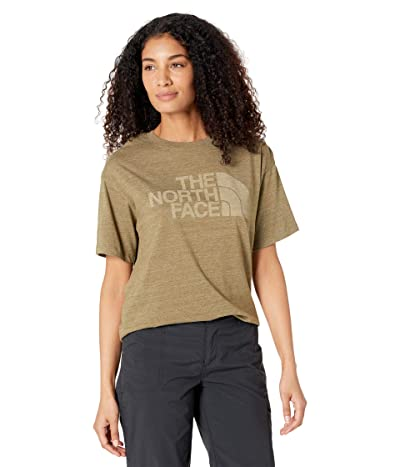The North Face Half Dome Short Sleeve Tri-Blend Tee Women