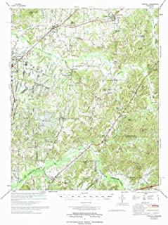 YellowMaps Atwood TN topo map, 1:62500 Scale, 15 X 15 Minute, Historical, 1977, Updated 1977, 22 x 18.1 in