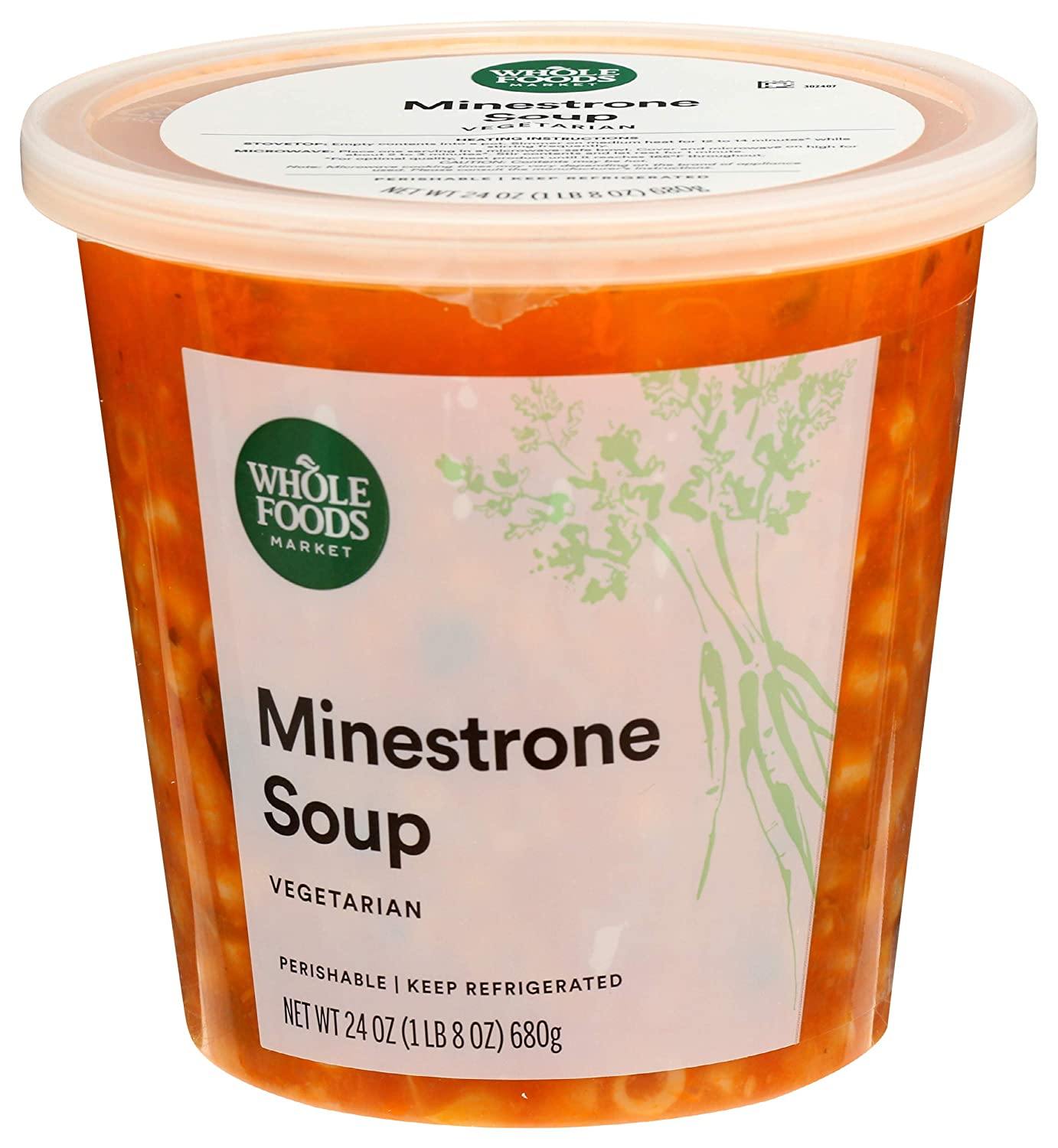 Nippon regular agency Whole Foods Market Minestrone 24 Detroit Mall Soup Ounce