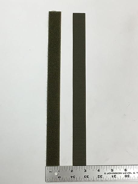MJ May 3816-SAT-PSA//H-5 Velcro Brand White Super Adhesive Woven Nylon Hook Fastener 2 Width x 5