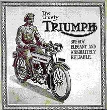 Triumph Motorcycle Advertising Print Retro Vintage 1906-1910