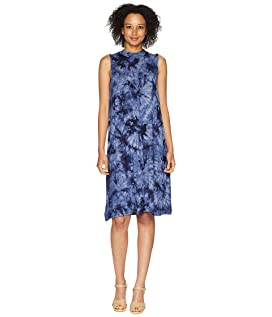 Desiree Tie-Dye Mock Neck Dress