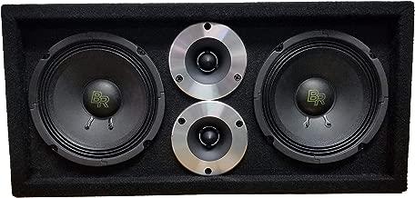 Bass Rockers Loaded 1200 Watts Speaker Pod Box: Two 6.5