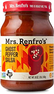 Mrs. Renfros Ghost Pepper Salsa Non-GMO, Gluten-Free (16-oz. jars, 2-pack)
