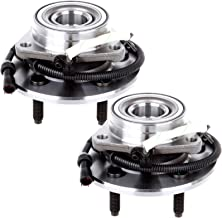 AUTOMUTO Wheel Hub Bearing, 515029 Front 5 Lugs ABS Sensor Fit Ford F-150/Ford F-150 SVT Lightning/Ford F-150 Heritage 2000-2004(Pack of 2)