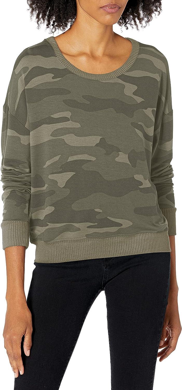 Splendid Women's Time sale Crewneck Long Sweater Sweatshir Pullover Sleeve All items in the store