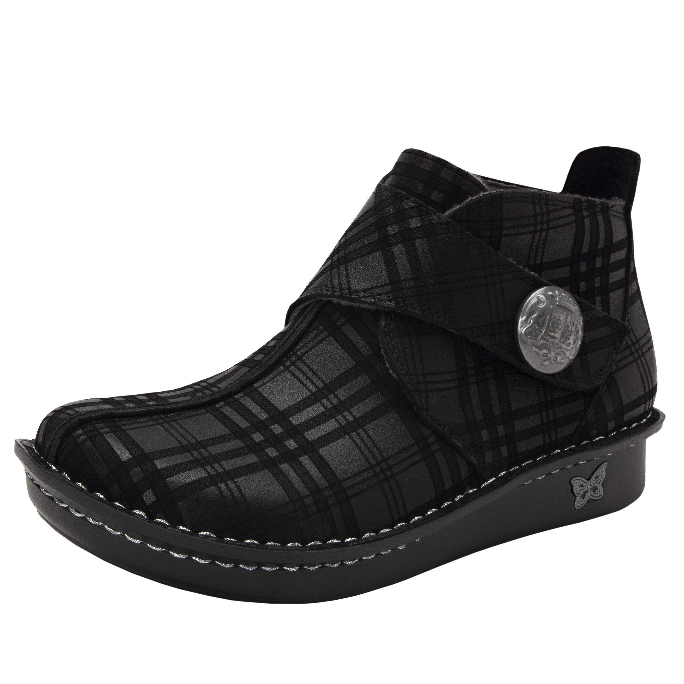 Alegria Caiti Womens Ankle Plaid