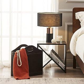 Versanora VN-L00067-EU - Lámpara de mesa, color negro y latón