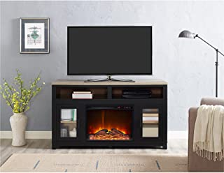 Ameriwood Home Carver Electric Fireplace TV Stand for TVs up to 60