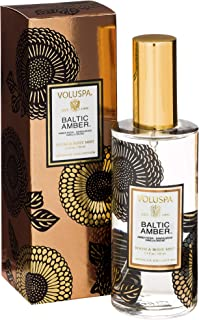 Voluspa Baltic Amber Room and Body Mist Limited 3.2 oz