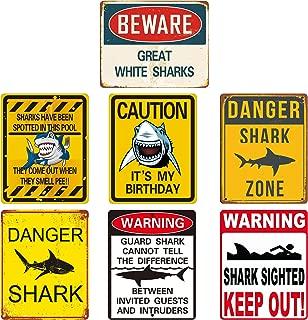 no sharks sign