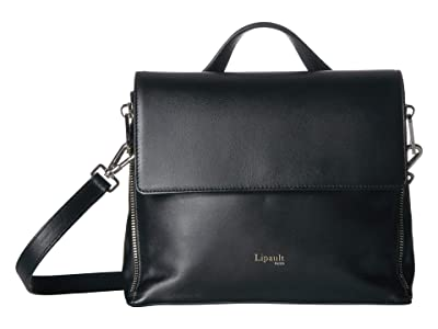 Lipault Paris Rendez-Vous Crossbody Bag (Black) Handbags