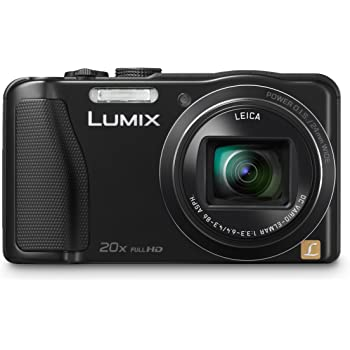 Panasonic Lumix DMC-ZS25 16.1 MP Compact Digital Camera with 20x Intelligent Zoom (Black) (OLD MODEL)