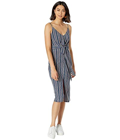 BCBGeneration Cocktail Wrap Tied Dress THD6226252 (Multi) Women