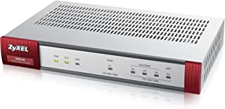 Zyxel ZyWALL (USG) UTM Firewall, Gigabit Ports, for Small Offices, 20 IPSec VPN, 5 SSL VPN, Limited, Hardware Only [USG40-NB]