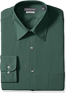 ca92b84acdd Van Heusen Men s Dress Shirt Regular Fit Poplin Solid