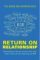 Return on Relationship Hardcover