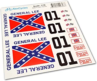 general lee decals
